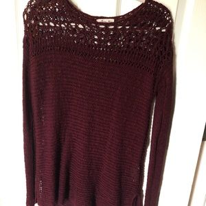 Hollister over-sized knit sweater